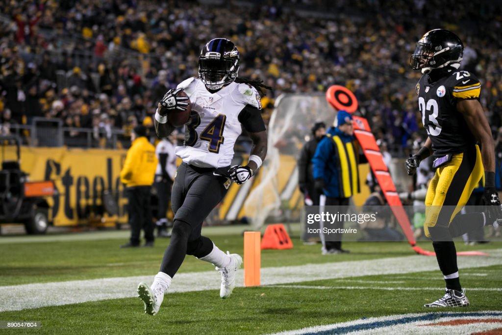 NFL: DEC 10 Ravens at Steelers : News Photo
