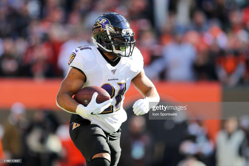 NFL: DEC 22 Ravens at Browns : News Photo