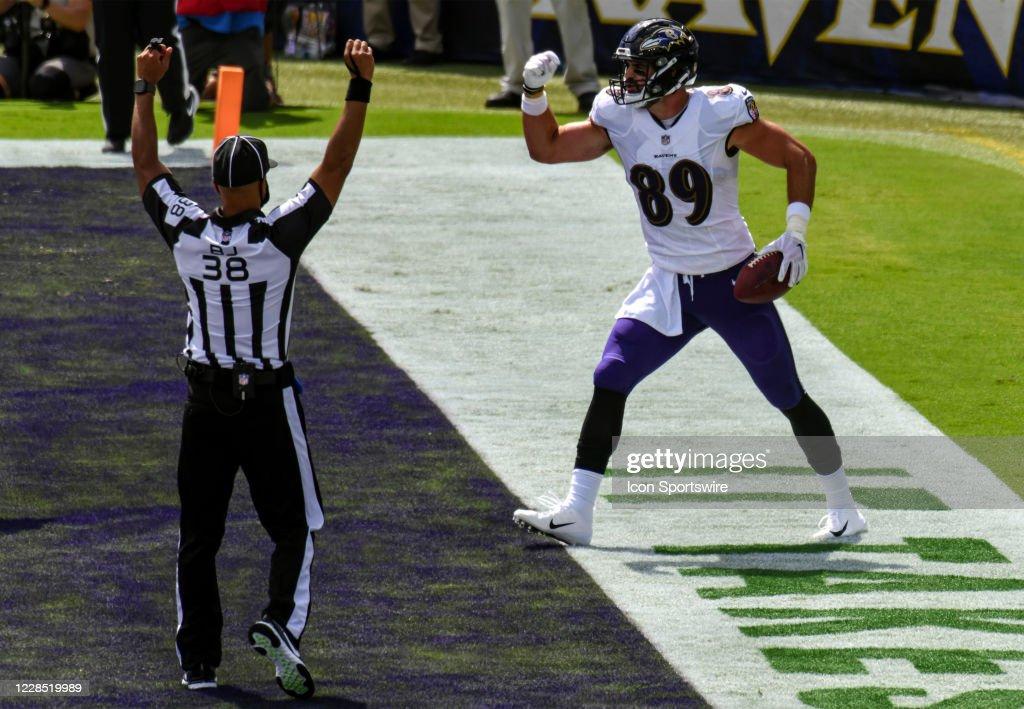 NFL: SEP 13 Browns at Ravens : News Photo