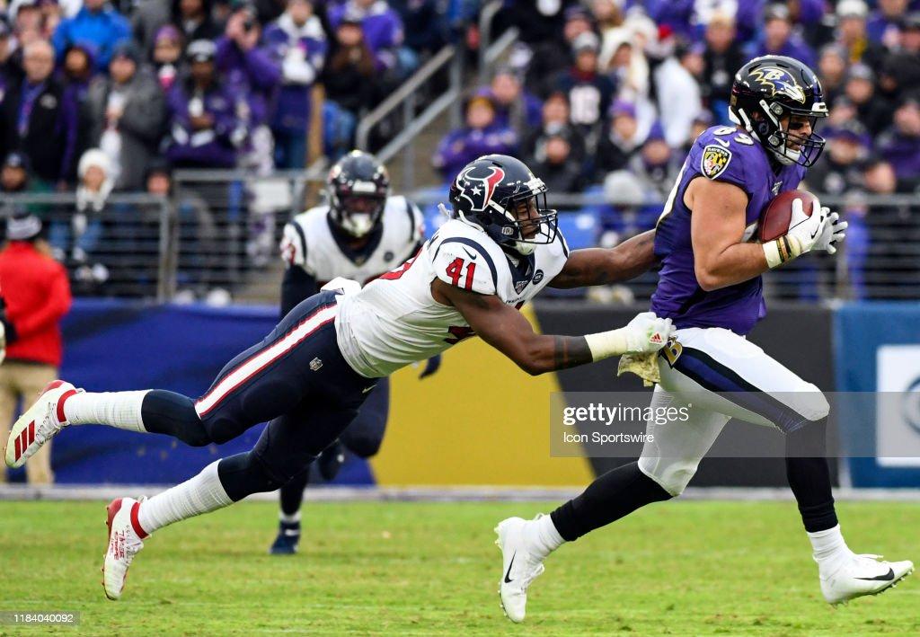 NFL: NOV 17 Texans at Ravens : News Photo