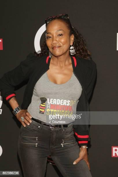 Baltimore Rising Director Sonja Sohn attends the 21ts Annual UrbanWorld Film Festival at AMC Empire 25 theater on September 20 2017 in New York City