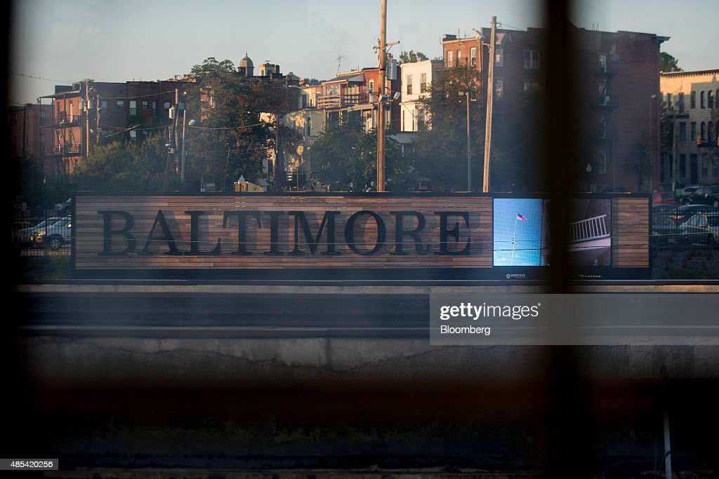 Views Of Baltimore As Home Flippers Make Quick Profits On Real Estate Investments : News Photo