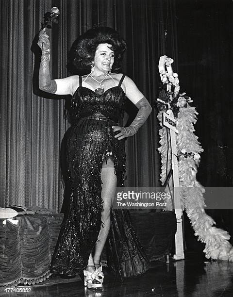 Baltimore's Blaze Starr famous for her relationship with Louisiana governor Earl Long was another bigname dancer who made stops on 14th Street 1974