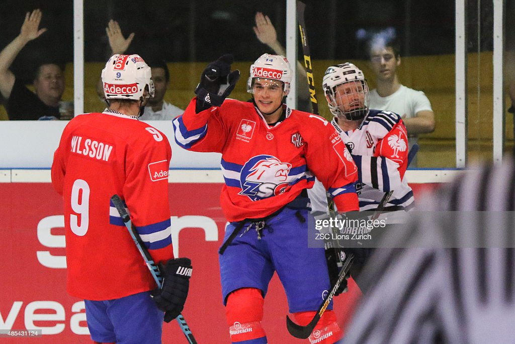 ZSC Lions Zurich v Gap Rapaces - Champions Hockey League : News Photo