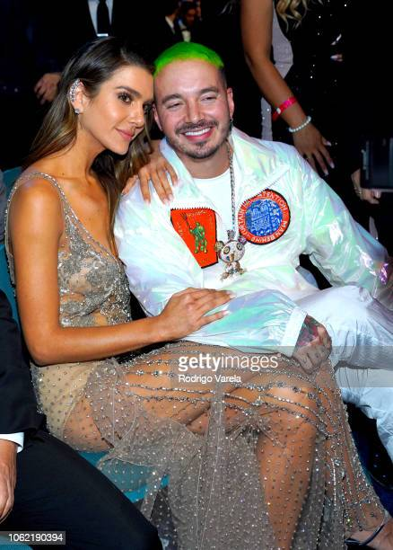 Balvin and Valentina Ferrer attend the 19th annual Latin GRAMMY Awards at MGM Grand Garden Arena on November 15, 2018 in Las Vegas, Nevada.