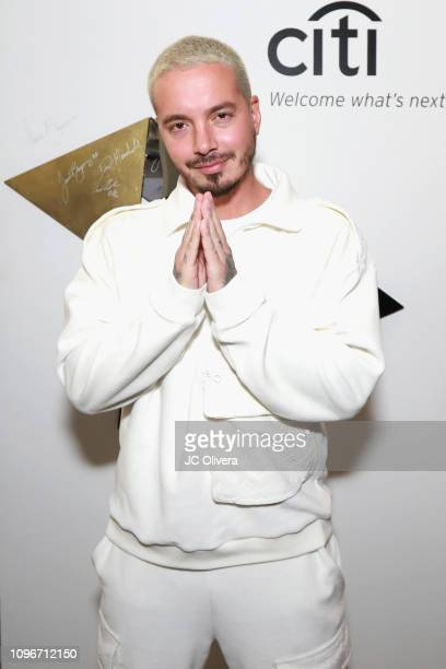 Balvin attends Sir Lucian Grainge's 2019 Artist Showcase Presented by Citi at The Row on February 9 2019 in Los Angeles California