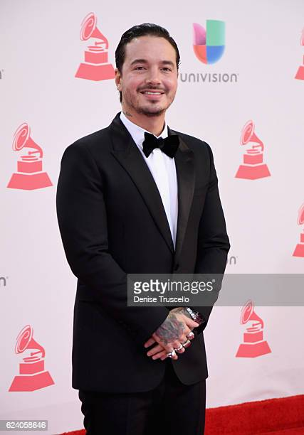 Balvin attends The 17th Annual Latin Grammy Awards at TMobile Arena on November 17 2016 in Las Vegas Nevada