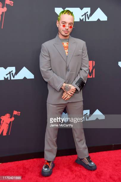 Balvin attends the 2019 MTV Video Music Awards at Prudential Center on August 26 2019 in Newark New Jersey