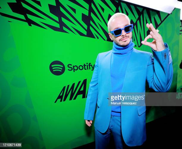 Balvin attends the 2020 Spotify Awards at the Auditorio Nacional on March 05 2020 in Mexico City Mexico