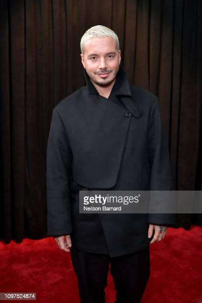 Balvin attends the 61st Annual GRAMMY Awards at Staples Center on February 10, 2019 in Los Angeles, California.