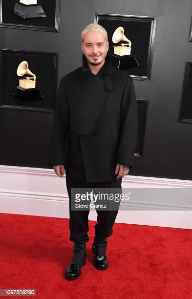Balvin attends the 61st Annual GRAMMY Awards at Staples Center on February 10 2019 in Los Angeles California