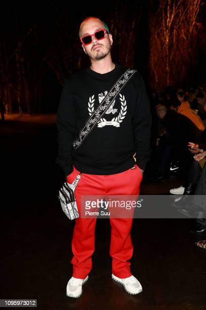 Balvin attends the Amiri Paris Menswear Fall/Winter 20192020 show as part of Paris Fashion Week on January 18 2019 in Paris France