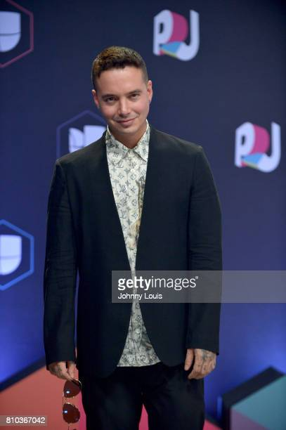 Balvin attends the Univision's 'Premios Juventud' 2017 Celebrates The Hottest Musical Artists And Young Latinos ChangeMakers at Watsco Center on July...