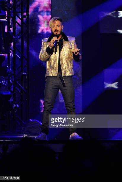 Balvin performs onstage at the Billboard Latin Music Awards at Watsco Center on April 27 2017 in Coral Gables Florida