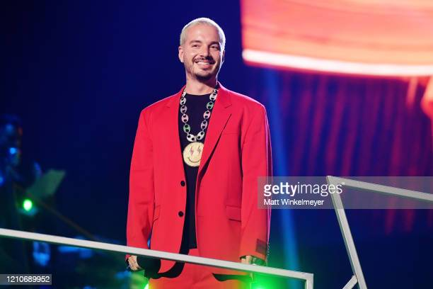Balvin speaks onstage during the 2020 Spotify Awards at the Auditorio Nacional on March 05 2020 in Mexico City Mexico