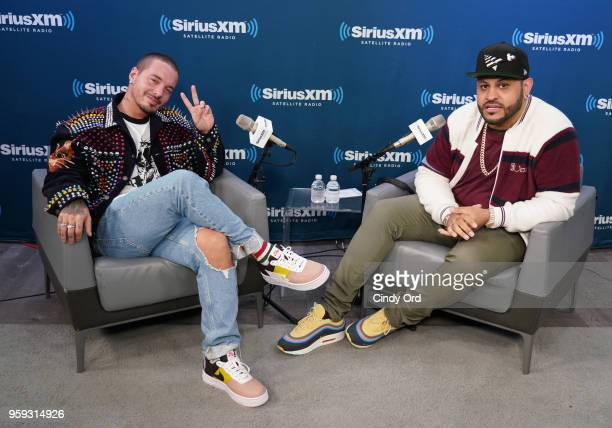 Balvin Visits Siriusxm For Its Town Hall Series On May 16 ...