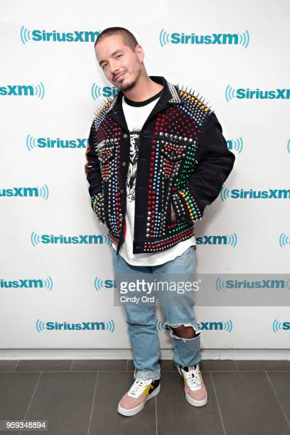 Balvin visits the SiriusXM Studios on May 16 2018 in New York City