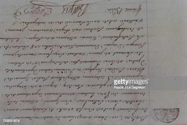 Balzac's birth certificate