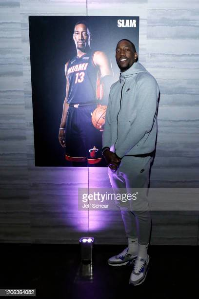 Bam Adebayo attends the Octagon AllStar Party at Theater on the Lake on February 14 2020 in Chicago Illinois