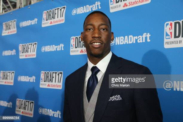 Bam Adebayo poses for a photo on the red carpet prior to the 2017 NBA Draft on June 22 2017 at Barclays Center in Brooklyn New York NOTE TO USER User...