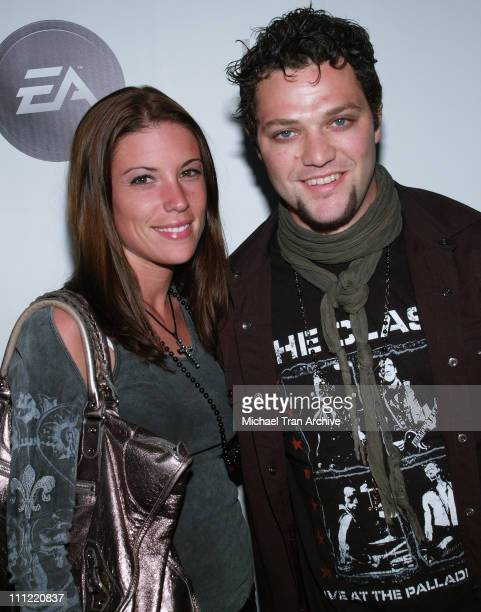 Bam Margera and Missy Rothstein during Access E3 2006 at House of Blues in West Hollywood CA United States