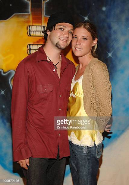 Bam Margera and Missy Rothstein during LIVE 8 Philadelphia Will Smith Celebrates LIVE 8 With a PreLaunch Party at 23rd Street Armory in Philadelphia...
