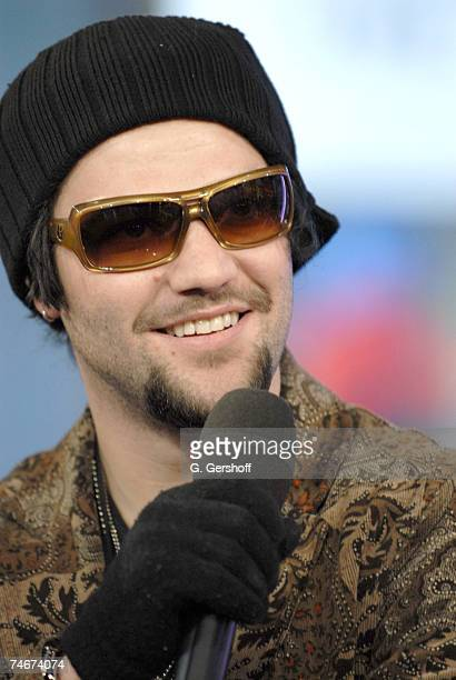 Bam Margera at the MTV Studios in New York New York