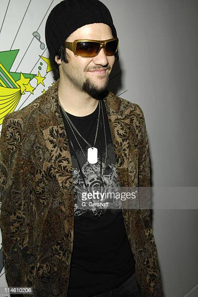 Bam Margera during Bam Margera and His Fiance Missy Visit MTV's TRL January 29 2007 at MTV Studios in New York City New York United States