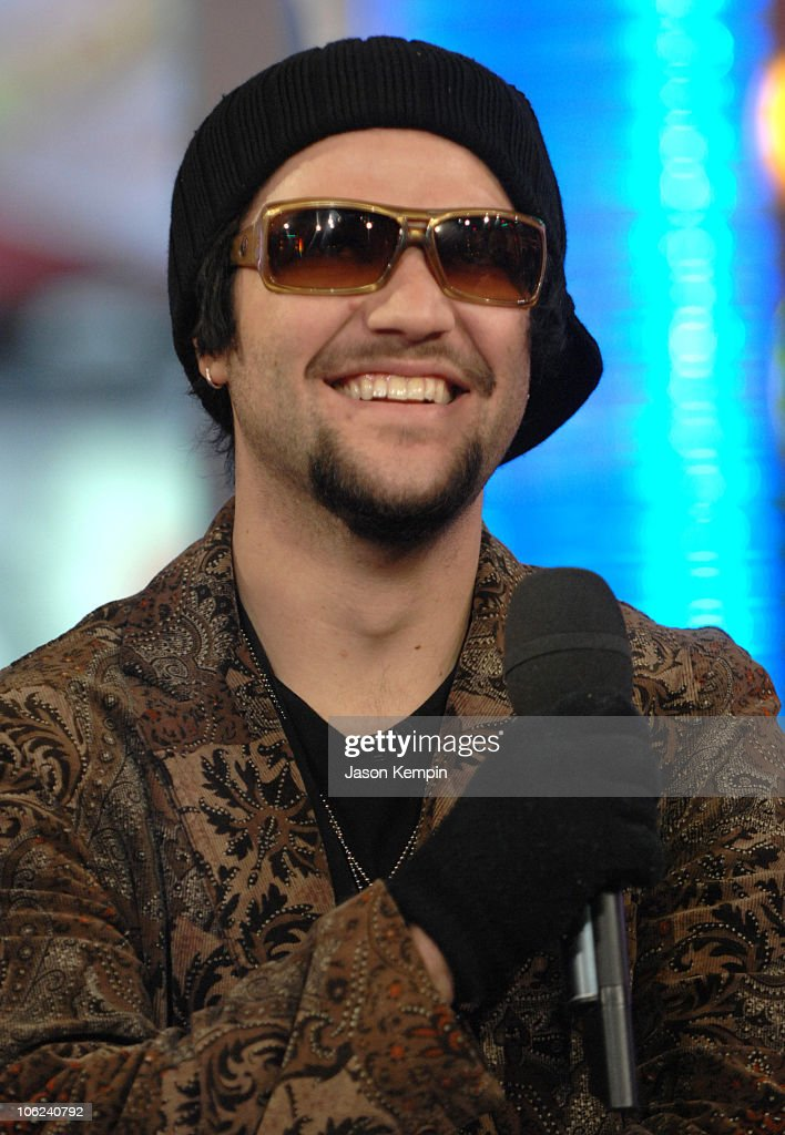 "Bam Margera Visits MTV's ""TRL"" - January 29, 2007"