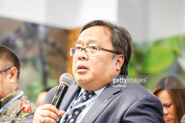 Bambang Permadi Soemantri Brodjonegoro Minister of National Development Planning of Indonesia during a side event of the UN Climate Conference COP24...