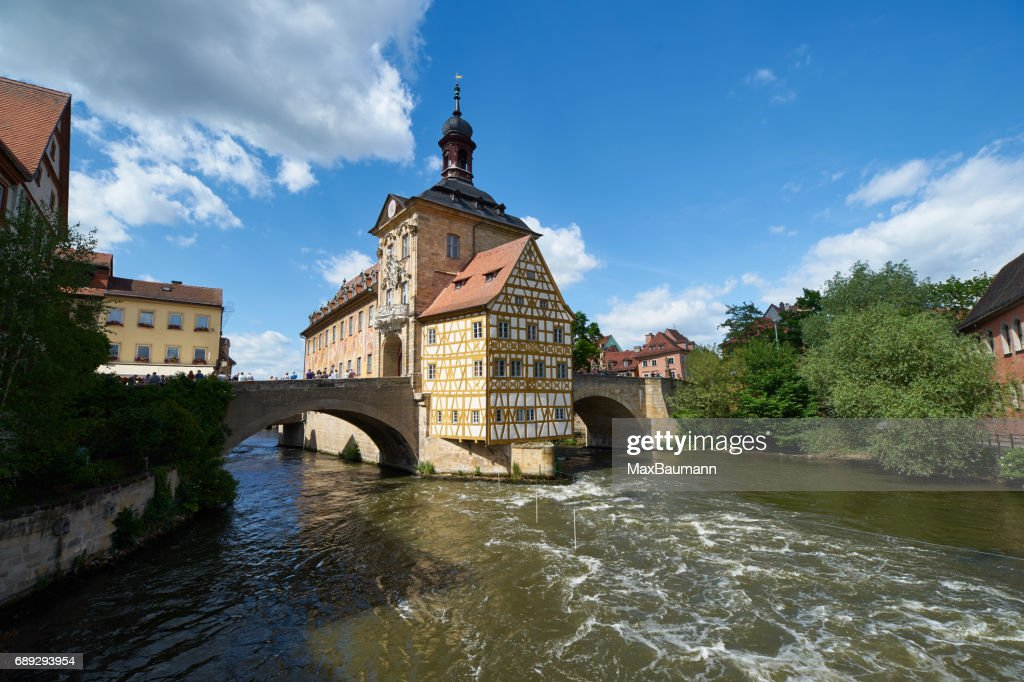 Bamberg Old Town Hall : Stock Photo