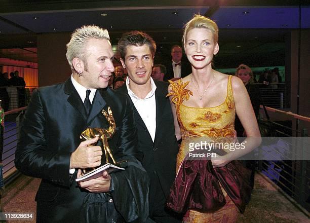 Bambi Awards 1999 In Berlin Germany On November 10 1999JeanPaul Gaultier Wolfram Grandezka Nadja Auermann