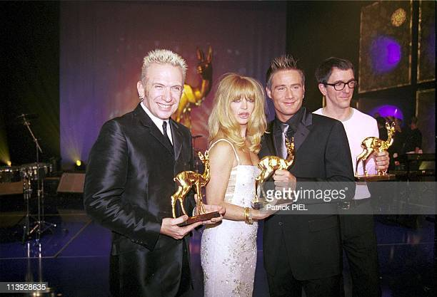 Bambi Awards 1999 In Berlin, Germany On November 10, 1999-J-P Gaultier, Goldie Hawn, Sasha And Dr. Motte .
