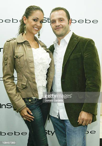 Bambi Lashell and Pascal Moudawad attend In Style Bebe event on November 11 2009 in Beverly Hills California