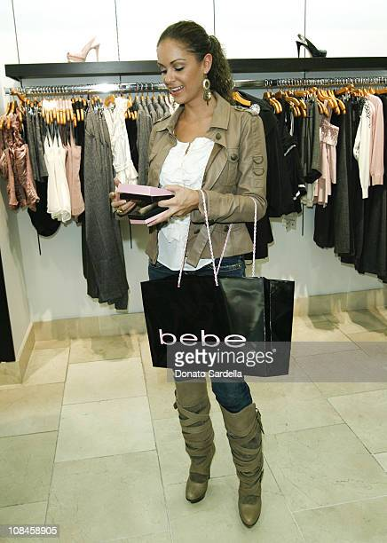 Bambi Lashell attends In Style Bebe event on November 11 2009 in Beverly Hills California