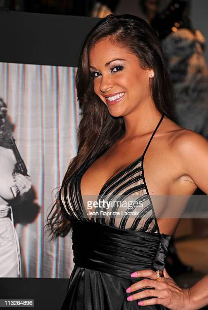 Bambi Lashell attends The Big Book Of Breasts 3D book launch party at Taschen on April 28 2011 in Beverly Hills California