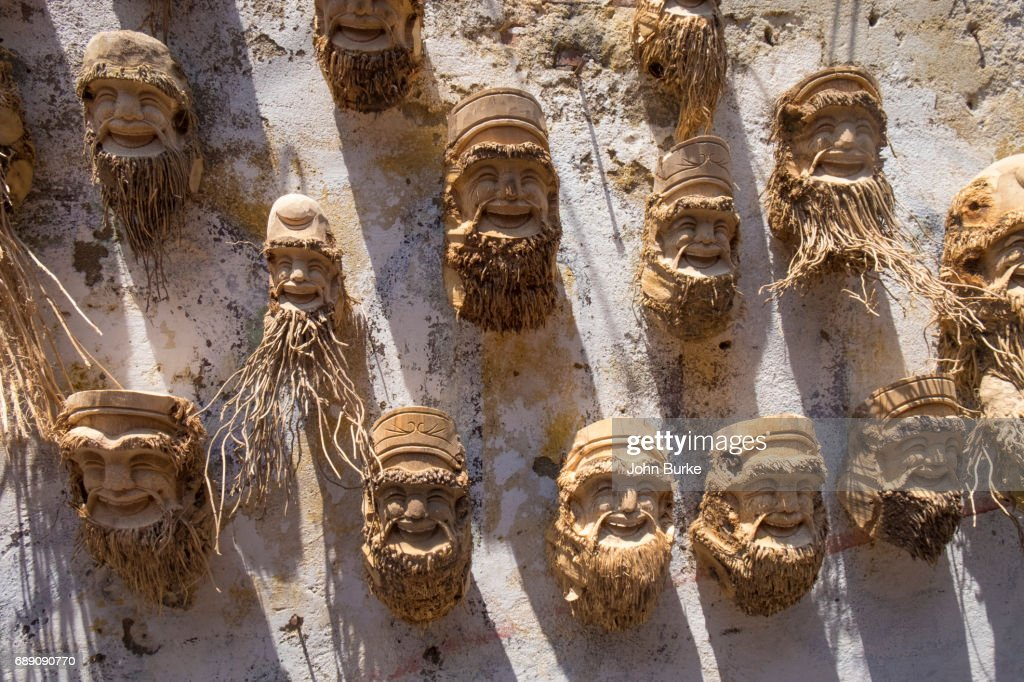 bamboo art, Vietnam : Stock Photo