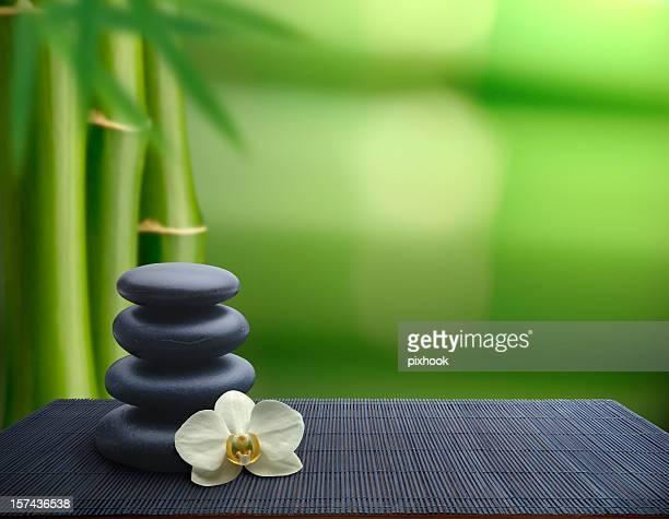 Bambus-Balance