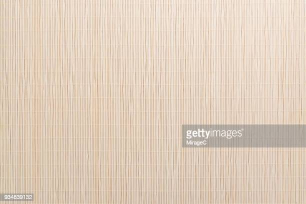 bamboo cane placemat texture - bamboo stock photos and pictures