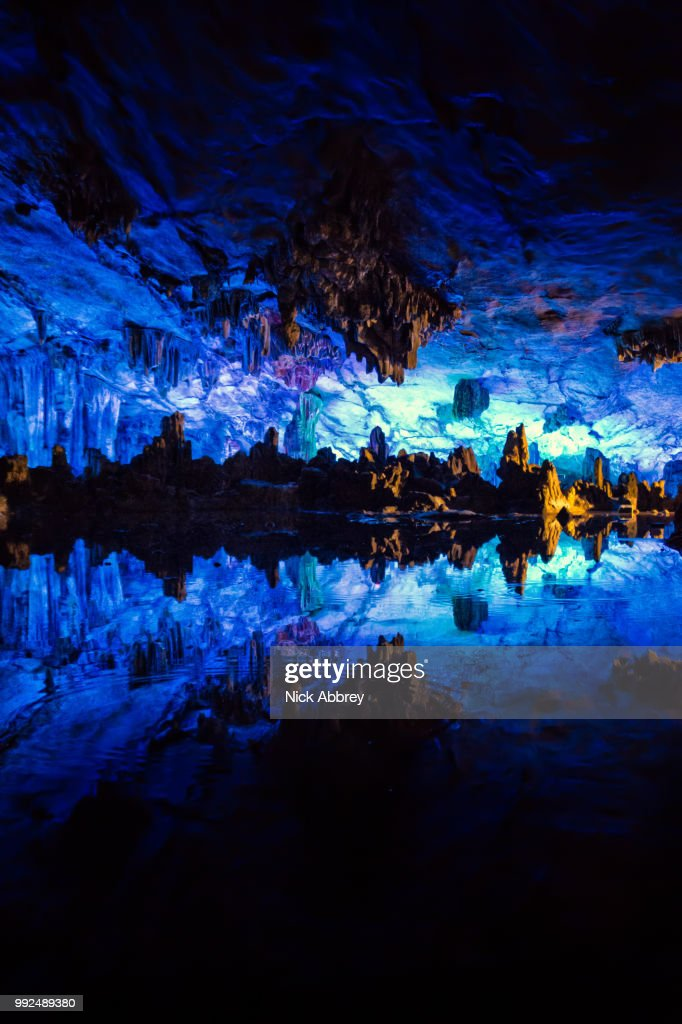 Bamboo Flute Cave : Stock Photo