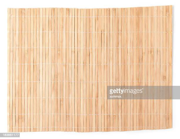 bamboo mat - bamboo stock photos and pictures