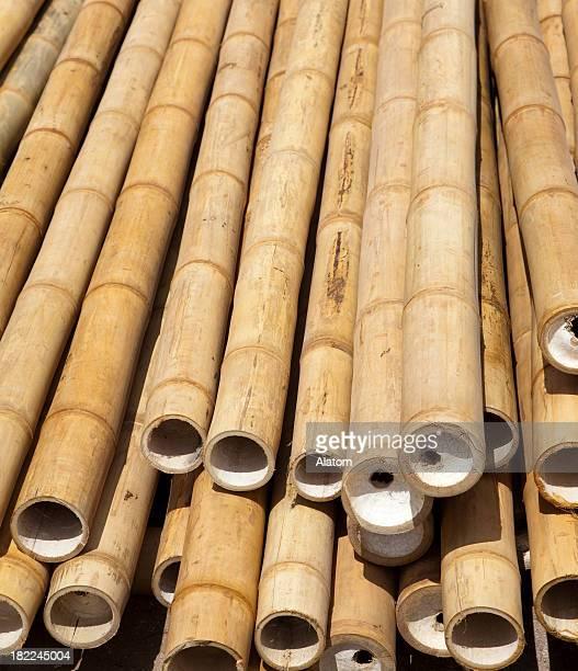 Bambus-Stöcke