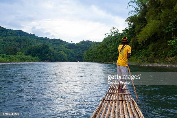 Bamboo Rafting on the Rio Grande, Jamaica