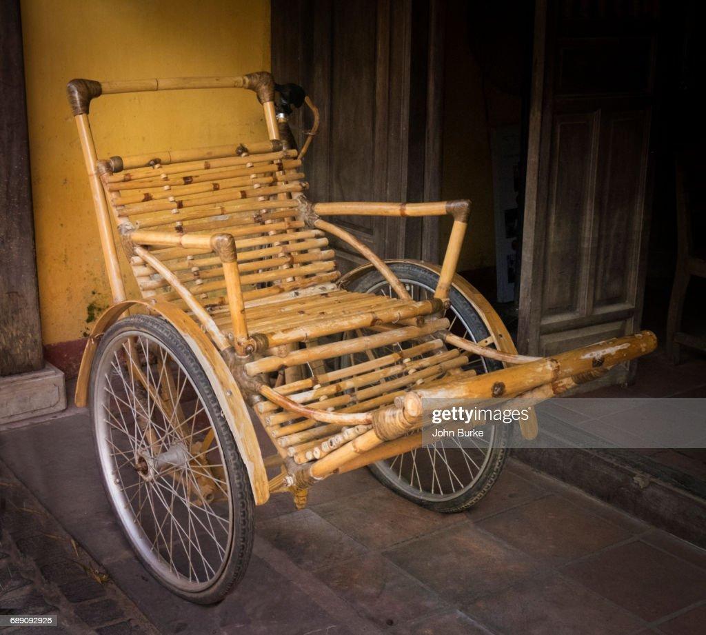 Bamboo Rickshaw : Stock Photo