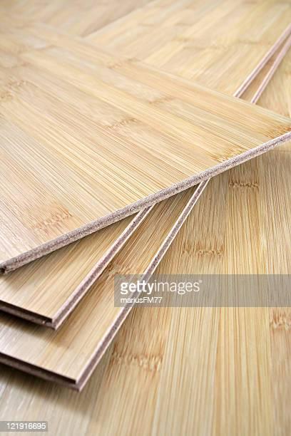 竹の木製フロアー