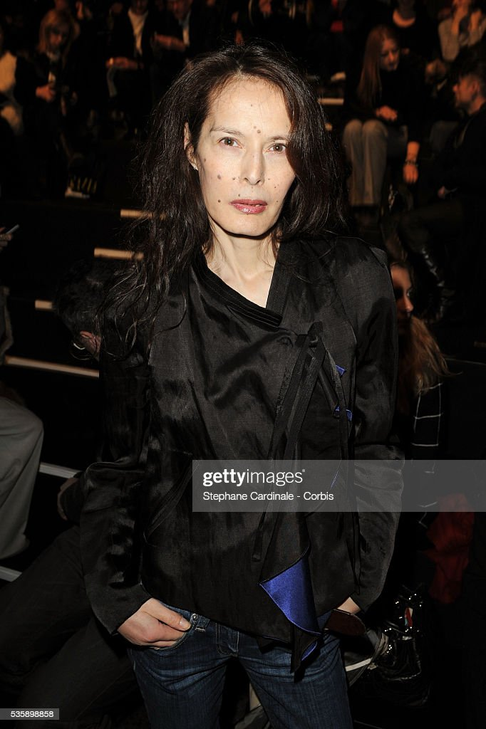 Bambou attends the Sonia Rykiel Ready To Wear show, as part of the Paris Fashion Week Fall/Winter 2010-2011.