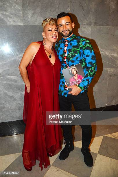 Bamby Salcedo and Mark Kanemura attend the HBO Documentary Films New York Premiere of 'The Trans List' at The Paley Center for Media on November 17...