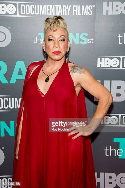 Bamby Salcedo attends 'The Trans List' New York Premiere at The Paley Center for Media on November 17 2016 in New York City