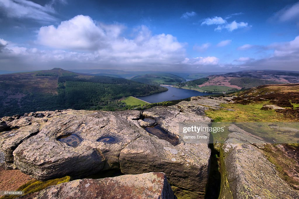 Bamford Edge, peak district National Park, UK : Stock Photo