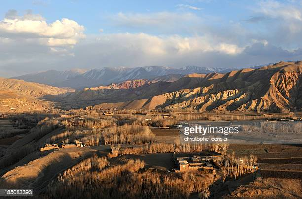 Bamyan at dusk